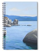 Rocky Cove On Lake Tahoe Spiral Notebook