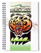 Rocky Mountain Grizzly Spiral Notebook