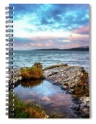 Rocky Pools Of Salty Sea Spiral Notebook
