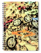 Rocky Racers Spiral Notebook