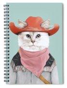 Rodeo Cat Spiral Notebook