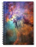 Roiling Heart Of Vast Stellar Nursery Spiral Notebook