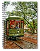 Rollin' Thru New Orleans Spiral Notebook