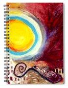 Rolling Ball Spiral Notebook