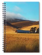 Rolling Hills Of California Spiral Notebook