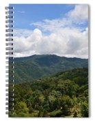 Rolling Hills, Open Sky Spiral Notebook