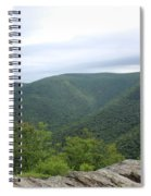 Rolling Mountains Spiral Notebook