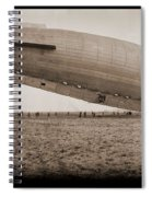 Roma Dirigible At Bolling Field Air Spiral Notebook