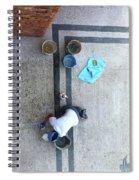 Roman Bath Spiral Notebook