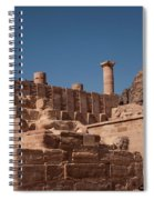 Roman Temple In Petra Spiral Notebook