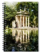 Rome, Ancient Temple Of Aesculapius - 04 Spiral Notebook