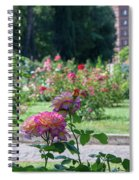 Rome Rose Garden Spiral Notebook