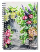 Rose Bundles Spiral Notebook