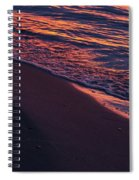 Rosy Tide Spiral Notebook