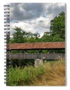 Rothenburg Covered Bridge Spiral Notebook