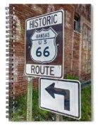 Route 66 - Kansas #1 Spiral Notebook