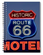 Route 66 Motel Spiral Notebook