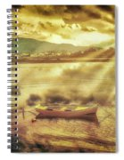 Rowing Boat, Corfu Spiral Notebook