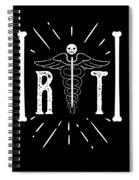 Rt Radiology Bones Medicine Radiologist Nurse Spiral Notebook
