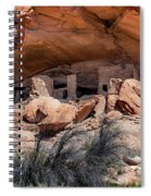 Ruins At Butler On The San Juan River  Spiral Notebook