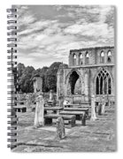 Ruins Of A Cathedral, Elgin Cathedral Spiral Notebook