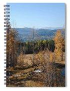 Rural Montana Spiral Notebook