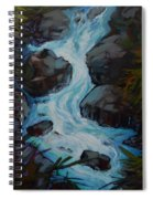 Rushing To The Sea Spiral Notebook