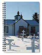 Russian Orthodox Church Ninilchik Alaska Spiral Notebook