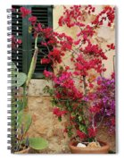 Rustic Life - Flowers Spiral Notebook