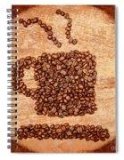Rustic Roast Spiral Notebook