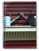 Rustic Watering Cans  Spiral Notebook