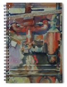 Rusty Engine  Spiral Notebook