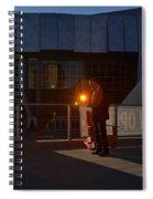 Sacramento Light Spiral Notebook