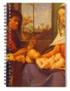 Sacred Conversation 1505 Spiral Notebook