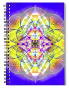 Sacred Geometry 731 Spiral Notebook