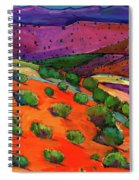 Sage Slopes Spiral Notebook