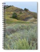 Sagebrush And Slump Spiral Notebook