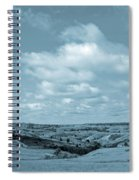Sailing Over Slope County Spiral Notebook