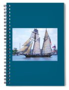 Sailing With Pride Spiral Notebook