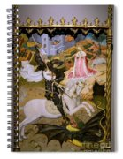 Saint George And The Dragon Spiral Notebook