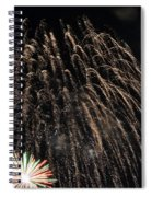 Saint Louis Riverfront 4th Of July Spiral Notebook