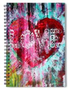Saint Valentines Day Spiral Notebook