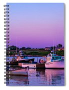 Sakonnet Point Boats Spiral Notebook