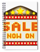 Sale Theatre Marquee Spiral Notebook