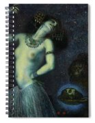 Salome, 1906 Spiral Notebook