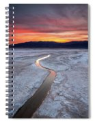 Salt Creek Flats Spiral Notebook