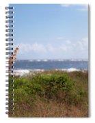 Salty Island Breeze Over Breach Inlet Spiral Notebook
