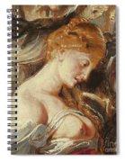Samson And Delilah, Detail Of Delilah Spiral Notebook