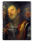 Samson Captured By The Philistines Spiral Notebook