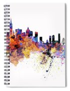 San Francisco Watercolor Skyline Spiral Notebook
